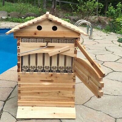 Bee Flow Hive Automatic Honey Flow Beehive With Super Box 7 pieces