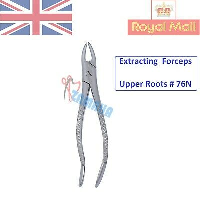 Dental Tooth Extracting Forceps Upper Roots # 76N Oral Surgery ZAMAHA UK-CE