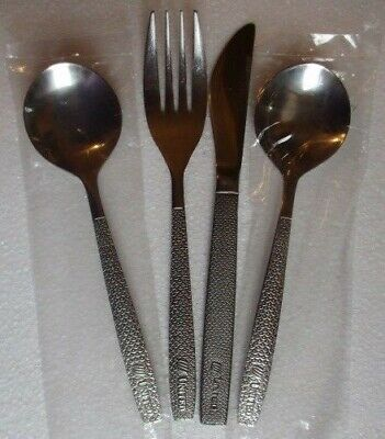 Vintage United Airlines Collectible Stainless Spoon Flatware Abco 12pc Docen  ✅