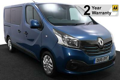2015(15) RENAULT TRAFIC 1.6 DCi NAVIGATION SPORT ECO ENERGY WHEELCHAIR ACCESS
