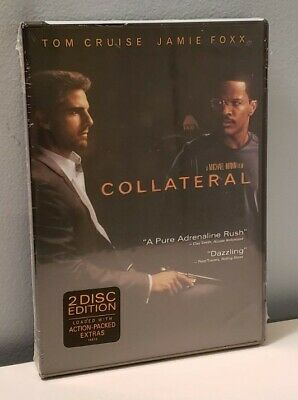 Collateral (DVD, 2004, 2-Disc Set) - Brand New - Tom Cruise/Jamie Foxx