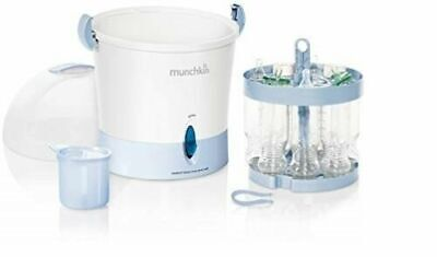 Electric Steam Sterilizer Baby Bottle Cleaner Feed Automatic Shut Off Sterilize
