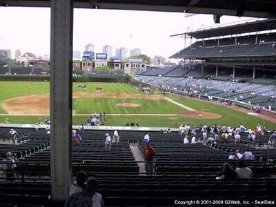 Chicago Cubs V La Dodgers Sec 213 Row 1 4 Tickets 4/25/19 Wrigley Field 1St Row!