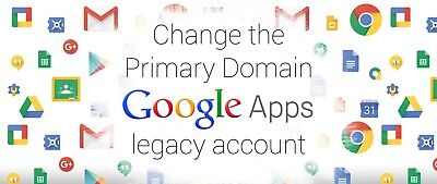 Change Primary Domain G Suite Free edition