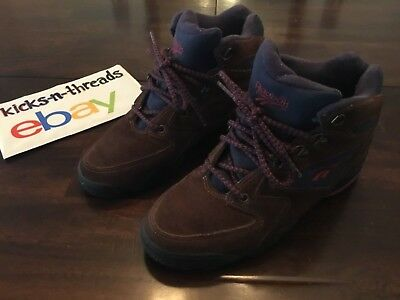 7f6db8ca2aa4 Vintage Reebok Hiking Boot ( Womens Size 7.5 ) Ra 407 Kri Brown Suede  Preowned