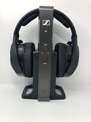 Sennheiser RS 175 RS175 Headband Wireless Headphones - Black - No Cords