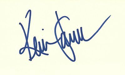 Cheap Price Kevin James Actor Comedian King Of Queens Tv Show Autographed Signed Index Card Entertainment Memorabilia