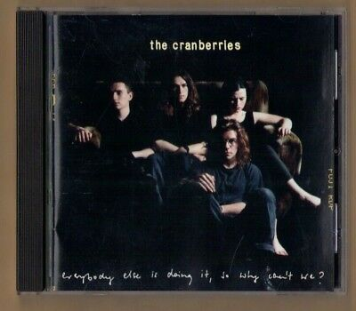 THE CRANBERRIES cd EVERYBODY ELSE IS DOING IT, SO WHY CAN'T WE? - 12 TRACKS