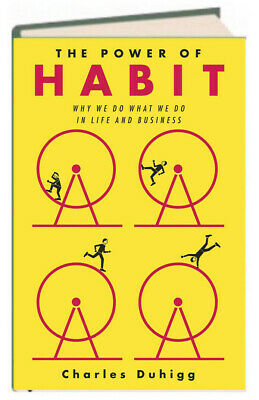 The Power of Habit Why We Do What We Do Charles Duhigg (Hardcover) New w/rm*