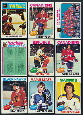1975-76 Topps Hockey  Complete Your Set Cards 1-100  ($0.99- $8.00 see list)