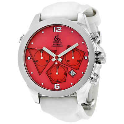 Jacob and Co. Automatic Chronograph Red Dial Men's Watch ACM-7