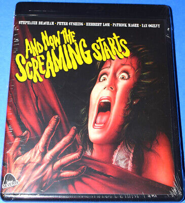 New Severin Peter Cushing And Now The Screaming Starts Horror Movie Blu Ray 1978