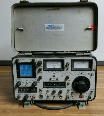 IFR FM/AM 1000S Communications Service Monitor
