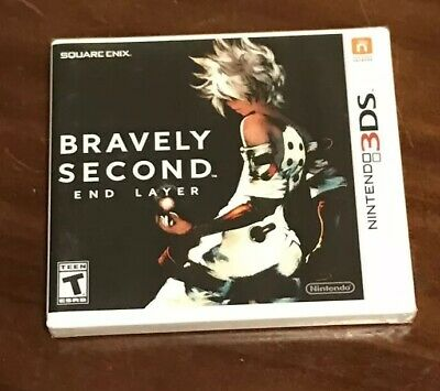 Bravely Second: End Layer BRAND NEW & SEALED For Nintendo 3ds