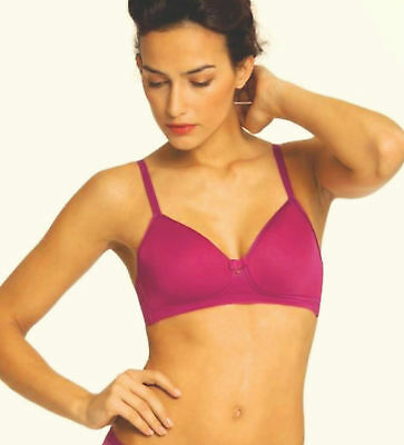 3491e1d293 CHANTELLE 2121 VOUS et Moi No Wire Spacer T-Shirt Bra 34DD Magenta ...