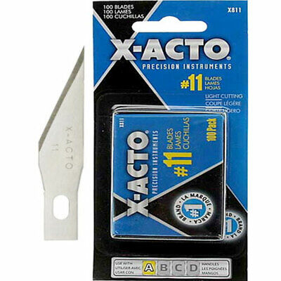 X-Acto #11 Carbon Steel Blades 100-Pack