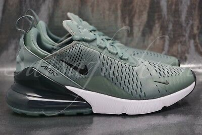 finest selection 24ced d56ce NIKE AIR MAX 270 Clay Green/Black-Deep Jungle Men's AH8050 300 Size 9.5