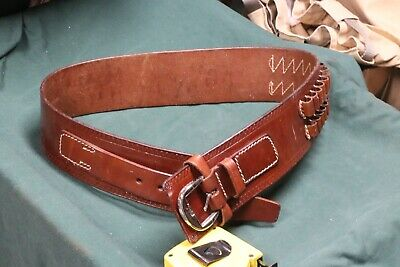 Provided Triple K Leather Belt Slide New Factory Blemish 45-.70/.416 Rigby Cal. #737
