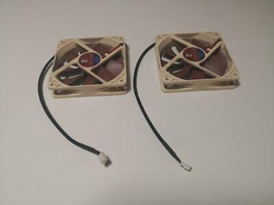 2 x Noctua NF-P12 120mm Cooling Fans (USED, 3 PIN)