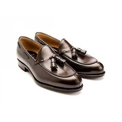 41dd39c88bc NEW CARMINA BROWN Suede Penny Loafers Forest Last UK 7 EEE US 8 E ...