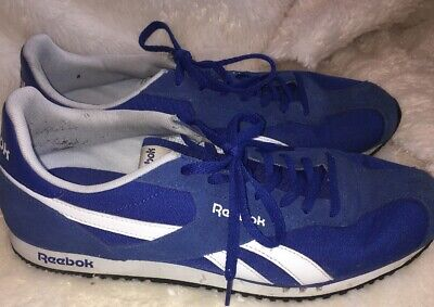 """74a63cf4dc7 Reebok Classic """"Royal Flag Collection"""" Rayen Trainers Blue Shoes Mens Size  9.5"""