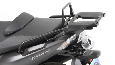 Yamaha TMAX 530 ABS ab Bj.2012 Alurack topcase carrier Black BY HEPCO AND BECKER