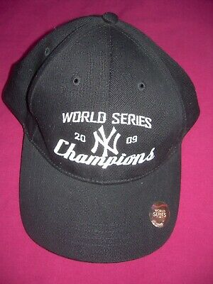 3db06d9b090 New York Yankees 2009 World Series Champions Baseball Cap MLB Adjustable