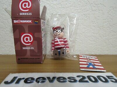 Medicom Bearbrick S35 Pattern 35 Dream-works be@rbrick 100/% Where's Waldo