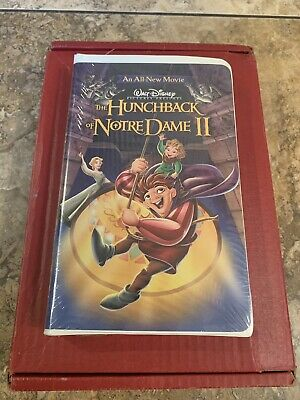 The Hunchback of Notre Dame II (VHS, 2002) **Factory Sealed**
