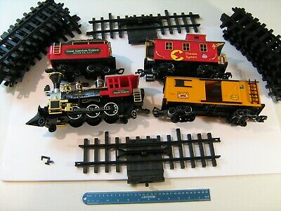 New Bright Western Line Rr 182wg Train Set Rare Vintage High Quality And Inexpensive Model Railroads & Trains