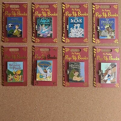 Pin Trading Pop-Up Books 2019 Disney Limited Edition LE 4000