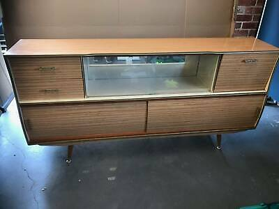 Retro 70s Buffet Dresser Credenzer in good condition