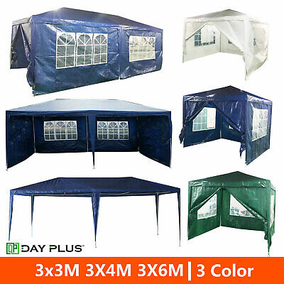3X3/4/6M Outdoor Car Canopy Portable Cover Gazebo Garage Shelter Carport Tent UK