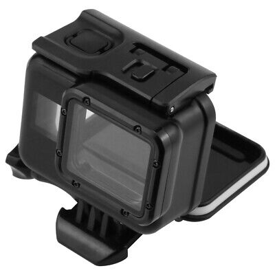 Action Camera 60m Diving Waterproof Protective Case Cover for Gopro Hero 7 Black