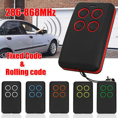 286-868Mhz Universal Clone Remote Control Key Electric Gate Garage Door Bling
