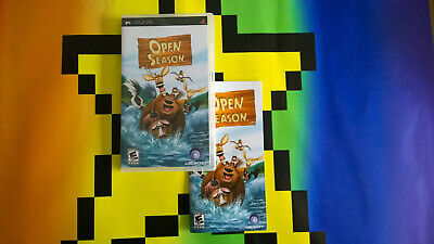 Sony Playstion Psp Open Season Video Game Free Postage