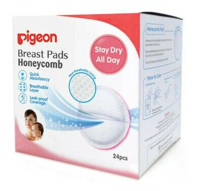 3x Pigeon Breast Pads Honeycomb Pads 24 pieces (Total 72 pieces) READ CAREFULLY