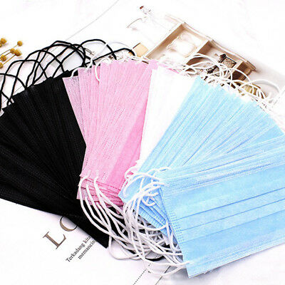 50Pcs Disposable Medical Surgical Dust Ear Loop Face Mouth Unisex MasksRASK