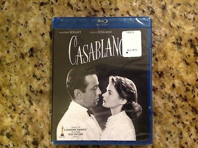Casablanca (Blu-ray Disc, 2012, 70th Anniversary)NEW AUTHENTIC US RELEASE
