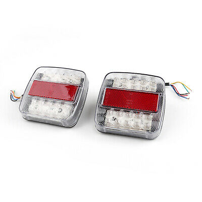 2x5 Function Led Light Board feux de freinage Trailer Van Caravan Truck 12V New
