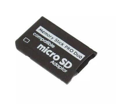 Micro SD SDHC TF to Memory Stick MS Pro Duo Reader PSP Adapter Converter