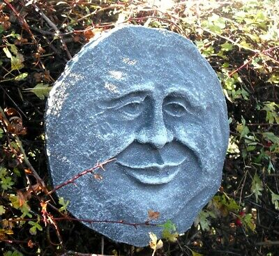 Smiley Funny Face man latex mould. Garden Ornament.  Craft mould. LOW COST!