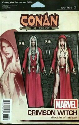 Conan The Barbarian Issue 3 - Rare Action Figure Variant Cover - Marvel Comics