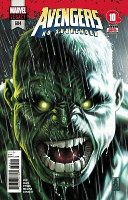 AVENGERS ISSUE 684 - FIRST 1st APPEARANCE OF THE IMMORTAL HULK - MARVEL COMICS