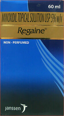 Regaine 5% Minoxidil Topical Men's  Extra Strength  Hair Loss   60Ml