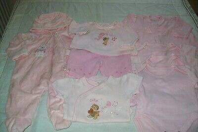Baby girls clothes Disney/Mothercare tiny/newborn combined postage available