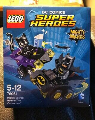 Lego DC COMICS Super Heroes Mighty Micros Batman vs. Catwoman 76061 Brand New