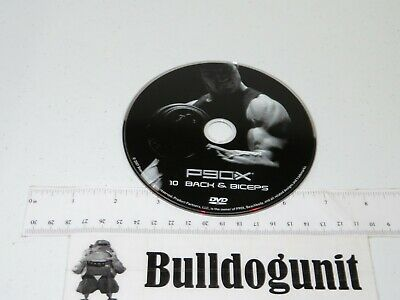 P90x Extreme Home Fitness Replacement Dvd 10 Back Biceps
