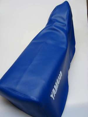 Motorcycle seat cover - Yamaha DT125 R in Blue