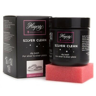 Hagerty Silver Clean 170ml Silver Dip Bath for Cleaning Silver and Silver Plate